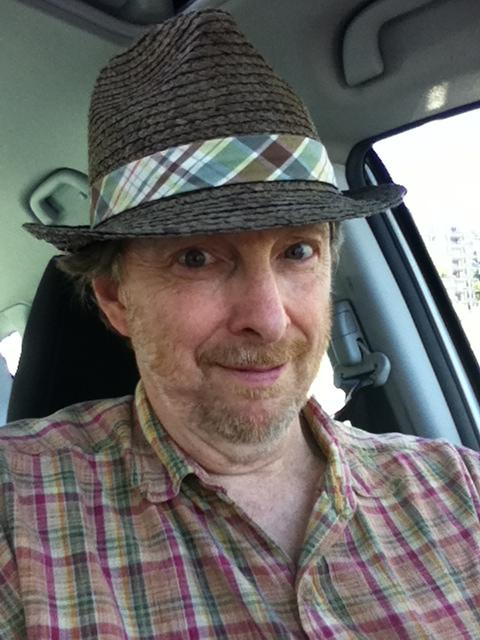 Bob in car photo